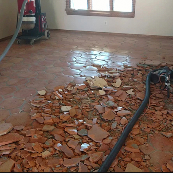 Dustless Tile Removal